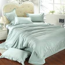 luxury king size bedding set queen light mint green duvet cover double bed in a bag