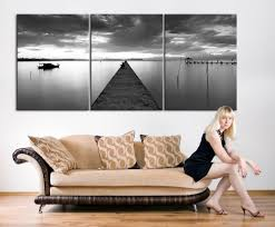 extra large wall art large canvas print wood pier 3 panel canvas print  on large 3 panel wall art with extra large wall art large canvas print wood pier 3 panel canvas