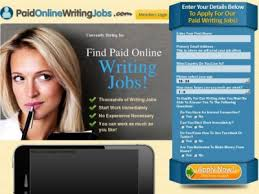 paid online writing jobs fast track job program