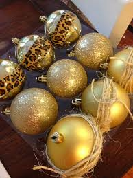 Ideas for giving simple gold ornaments a little extra pizazz | From The  Home Depot's Apron