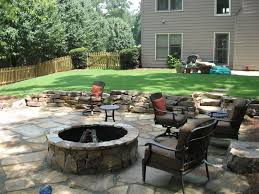 concrete patio with square fire pit. Large Size Of Patio Square Fire Pit Ideas Concrete Interior Designers Pits With