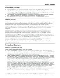 General Professional Summary For Resume Professional Summary Resume Ideas Orlandomoving Co