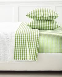 gingham sheet sets