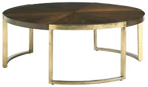mid century round coffee table furniture mid century modern round cocktail table with walnut veneer gold