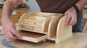Desk Organizer Desk Organizer With Charging Station Woodworking For Mere Mortals