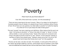 poverty essay poverty essays uk org view larger