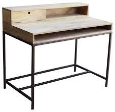 double zero mango wood desk desks and writing bureaus