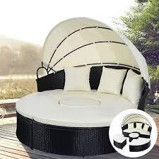sonneninsel rattan lounge gartenliege sonnenliege gartenmöbel sitzgarnitur