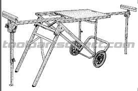 ridgid miter saw table. ridgid ac99400 mobile miter saw workstand parts table n