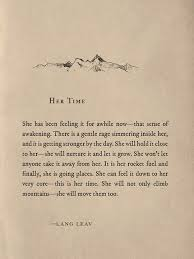 Her Time Beautiful Quote From Lang Leav Quotes Pinterest Gorgeous Time Quotes For Her