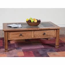 Sunny Designs Coffee Table Sunny Designs Sedona Coffee Table W Slate Top 3143ro