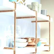 copper wall shelves copper shelf unit copper wire wall grid shelf copper kitchen wall shelf