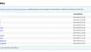 various xml sitemap plugins