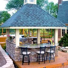 build a patio bar. Combination Outdoor Kitchen And Bar Build A Patio Bar D