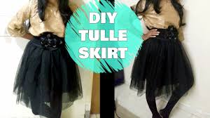 how to sew a tulle skirt diy tulle skirt easy sewing