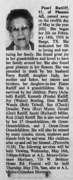 Pearl Ratliff 2001 - Newspapers.com