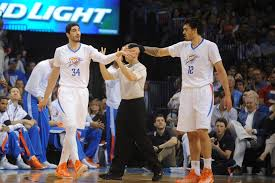 Okc Depth Chart Thunder Examining The Frontcourt Depth Chart In Oklahoma
