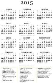 Calendario 2015 Argentina Calendario Colombiano 2015 Con Dias Festivos