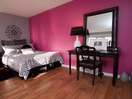 Bedroom : Monochromatic Style In Bedroom With Best Color Light Blue Green  Pink With Pink Wall And Wood Floor Also Mirror Monochromatic Style in the  Bedroom: ...