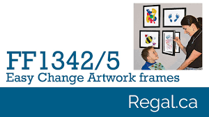 ff1342 ff1345 easy change artwork frame from regal gifts