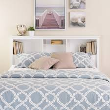 white queen bookcase headboard. Beautiful Bookcase Shop Laurel Creek Ada White FullQueen Bookcase Headboard  Free Shipping  Today Overstockcom 20882061 And Queen S