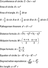 trigonometry for cheat sheet dummies image0 jpg