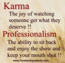 Professionalism Quotes Cool Mesmerizing Quotes Karma Professionalism 48 QuotesNew