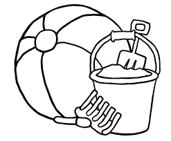 Small Picture Beach ball 26 Objects Printable coloring pages