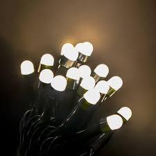 Mini Globe Lights Novolink 50 Ft 200 Light Mini Globe Warm White Low Voltage Led String Light