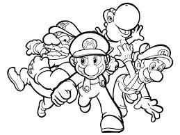 Più Ricercato Disegni Da Colorare Mario E Luigi Disegni Da Colorare