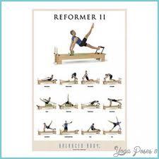 Pilates Reformer Workout Chart Pilates Machine Exercises Chart Yogaposes8 Com