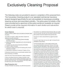 14 Beautiful Commercial Cleaning Services Proposal Sample Pictures
