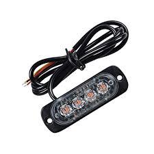 Strobe Light In Store Amazon Com Ants Store 12w 12 24v 4 Led Strobe Light 19