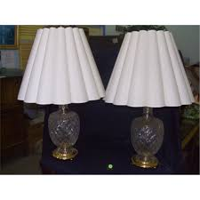 engaging image of waterford crystal table lamps for home lighting decoration ideas drop dead gorgeous