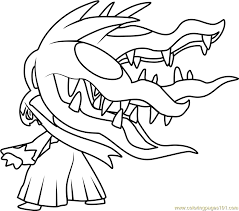 Small Picture Pokemon Slowbro Coloring Page Coloring Coloring Pages