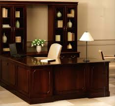 Shaped office desk Computer Desk Shaped Office Desk With Hutch And Library Blue Zoo Writers Shaped Office Desk With Hutch And Library Home Design Simple