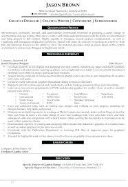 Designer Resume Example Writing Cover Letter Creative Resumes And