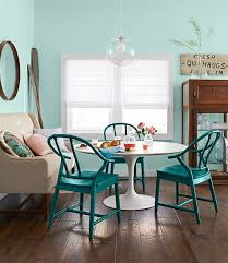 teal painted dining chair interiors color teal dining room chairs inside cool teal dining room chairs