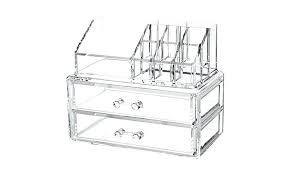 makeup organizer drawers walmart. ergonomic drawer makeup organizer for home design two drawers walmart e