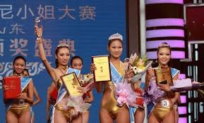 beauty pageant industry in marketing  winners from shandong bikini pageant
