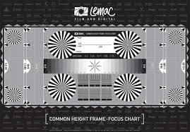 Back Focus Test Chart Lemac A3 Frame Backfocus Test Chart Lemac