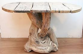 Driftwood Dining Table,Driftwood Patio,Rustic Table,4 Seater Garden  Furniture