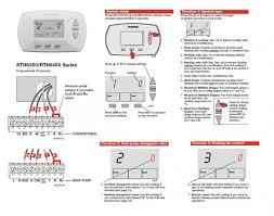 wiring diagram honeywell heat pump thermostat the best wiring 7 wire thermostat wiring diagram at Honeywell Thermostat Wiring Heat Pump