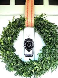 outdoor boxwood wreaths wreath large artificial front door for farmhouse decor year round green burlap all season decorating ideas