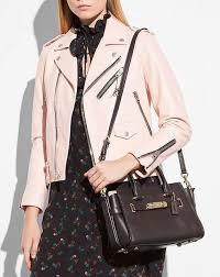 women coach swagger 27 coach glovetanned leather shoulder bags 10 3 4 l x 7 3 4 h x 5 3 4 w