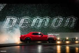 2018 dodge automobiles. contemporary dodge the fiat chrysler automobiles nv 2018 dodge challenger srt demon sports  vehicle is revealed during an to dodge automobiles