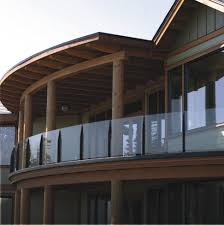 Exterior Glass Railing Systems Gl Deck Cost Per Linear Foot