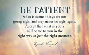 Patience Is A Virtue Quote Delectable Patience Is A Virtue Quote Mr Quotes