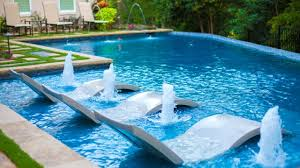 Floating Pool Fountain With Lights 25 Fabulous Pool Fountains Part 5