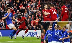 Liverpool host leicester in the pick of the premier league's 3pm action. Liverpool 2 1 Leicester City James Milner Scores Injury Time Penalty To Ruin Rodgers Return Daily Mail Online